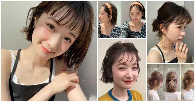 2021耳下短髮