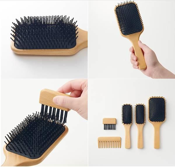 無印良品必買推薦-山毛櫸頭皮按摩梳