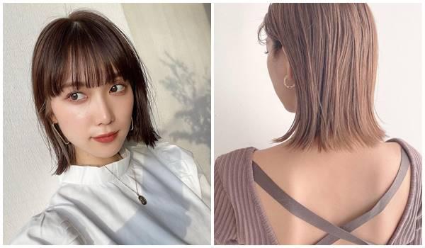 2021短髮流行趨勢韓系外翹鮑伯短髮