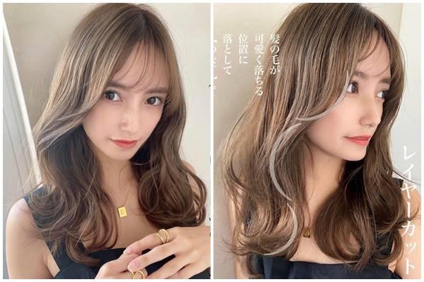 2021髮型趨勢 寬臉適合髮型
