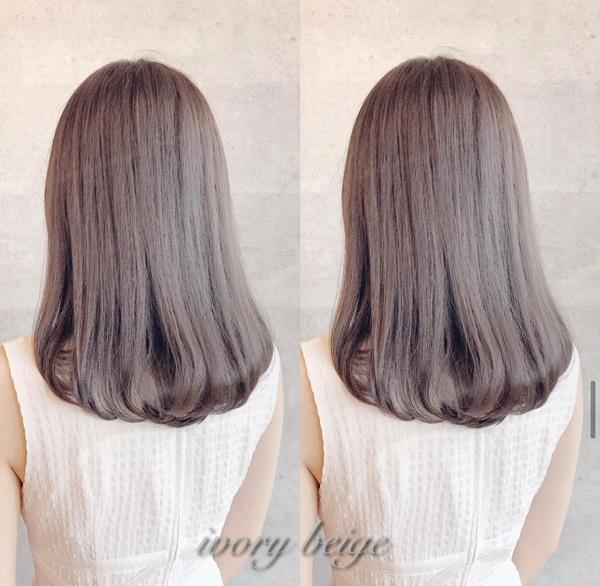 奶茶系髮色