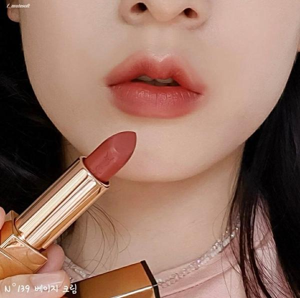 YSL 奢華緞面唇膏 139