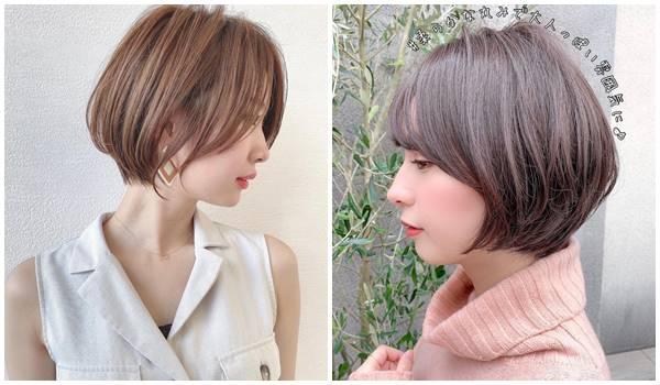 2021短髮流行趨勢日系短鮑伯
