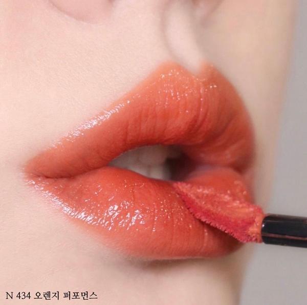 YSL 奢華緞面漆光唇釉 #434