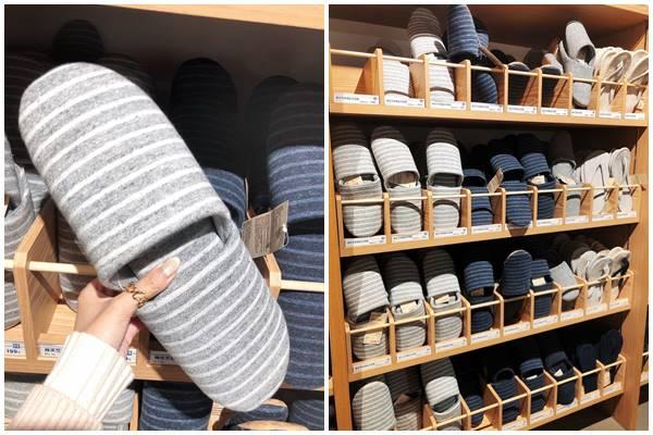 無印良品必買推薦-棉天竺舒適貼合拖鞋