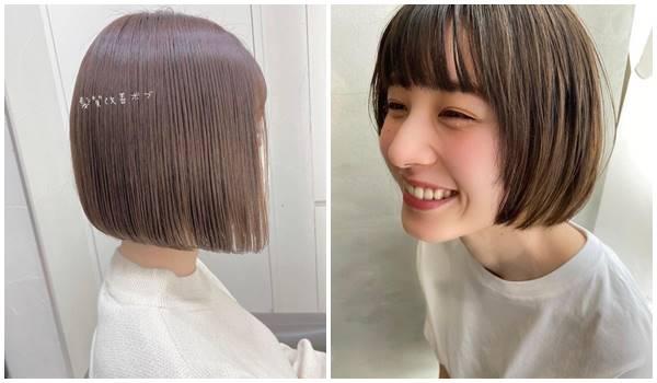 2021短髮流行趨勢迷你鮑伯短髮