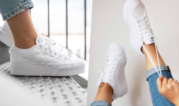 2021「高跟厚底球鞋」推薦adidas Nizza Platform