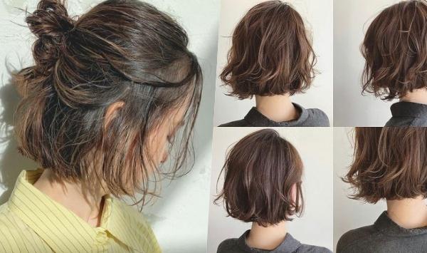 2021女生短髮髮型燙捲