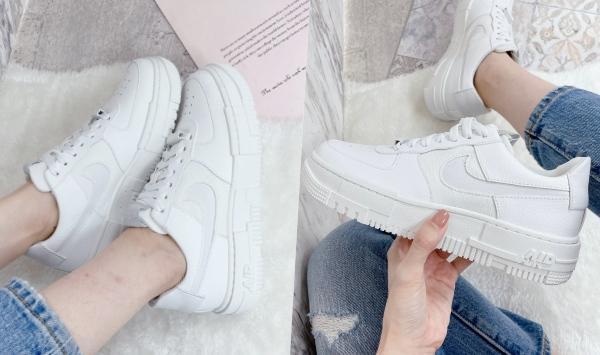 2021「高跟厚底球鞋」推薦Nike Air Force 1 Pixel