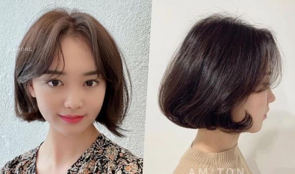 2021女生短髮髮型韓系短髮