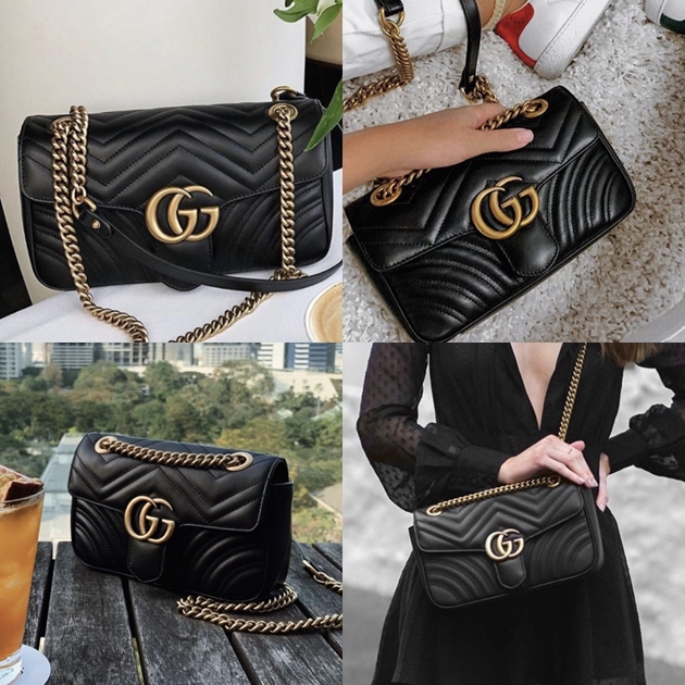 GUCCI  GG Marmont  黑色